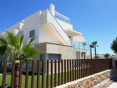 Photo for South-facing luxury apartment on Vistabella Golf