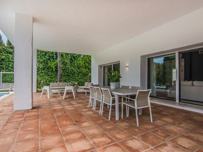 Photo for 4 bedrooms Villa seafront XII in Puerto Banus