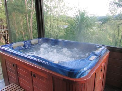 Photo for Self Contained Chalet with private spa...perfect!!