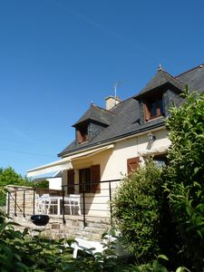 Photo for The Bruyères, Morgat. House for 9 people, 6 adults, 3 children and a baby.