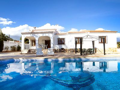 Photo for Vacation home Pamela  in Calpe/ Calp, Costa Blanca - 9 persons, 4 bedrooms