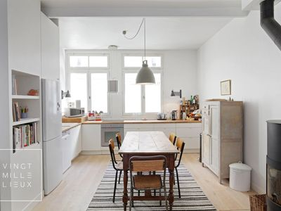 Photo for Charming house with garden and parking - 6/8 pers - Montparnasse
