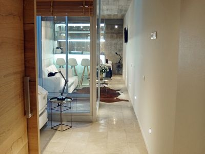 Photo for Arc de Triomf Loft in the city centre with rooftop swimming pool and terrace