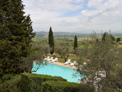 Photo for Villa Lauro is a perfect place to stay in tuscany, private pool, fantastic position but close to the small and pretty village of Monte San Savino