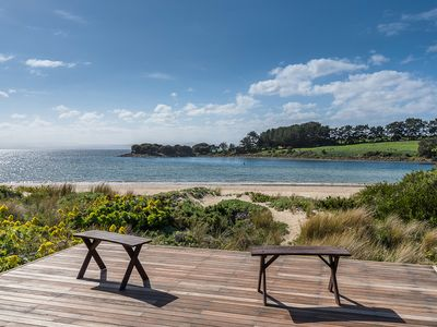 Photo for Ingleby Sands - A house atop the sand dunes - Absolute beachfront.