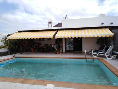 Photo for Charming Home Close to Beach with Pool, Volcano Views, Terrace, Garden & Wi-Fi; Parking Available