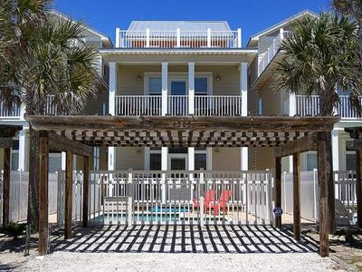"""Photo for """"Fall Specials"""" Private Coastal Beach House w/Gulf View & Private Pool Sleeps 12"""