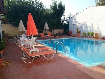 Photo for Nice complex with Studio and 1- and 2 bedroom apartments, Rapaniana, near Chania