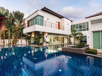 Photo for Kyerra Villa -  Giant private pool in Kamala, pool table, ping pong table!