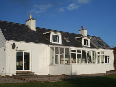 Photo for Converted Croft House With Sea Views