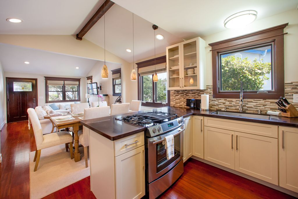 Carmel Kitchen Expansion: Monterey Rentals, Cannery Row Cottage 3BR 2...