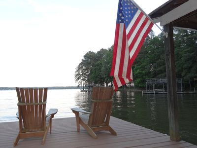 Rustic Cabin Rental With Private Cove Access To Gorgeous Lake Gaston.