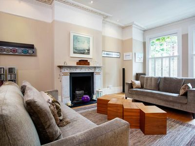 Photo for Rare 6BR retreat with a large garden, easy reach of London Waterloo, by Veeve