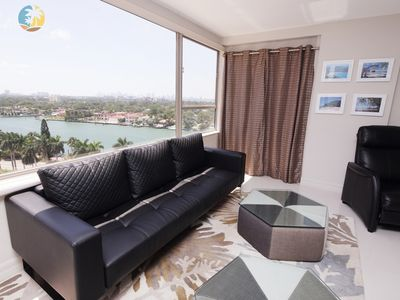 Photo for Beachfront Luxury 3 Bedroom Miami Condo - 1419