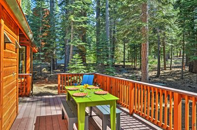 Elevate your Truckee experience at this fantastic Truckee vacation rental house!