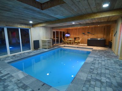 Photo for Modern Holiday Home in Sourbrodt with Private Pool