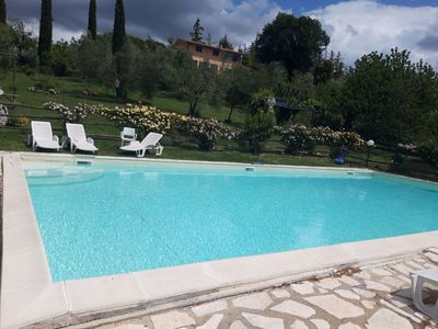 Photo for Lovely Villa near Rome Large  Pool Stunning Views
