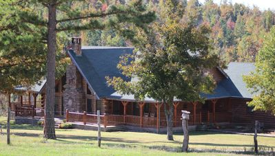 Photo for Secluded Mountain Lodge w/Amazing Views In the Heart of Buffalo River Country!