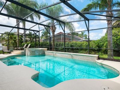Photo for Seven Bedrooms, Luxury, Gated, 4 miles to Disney