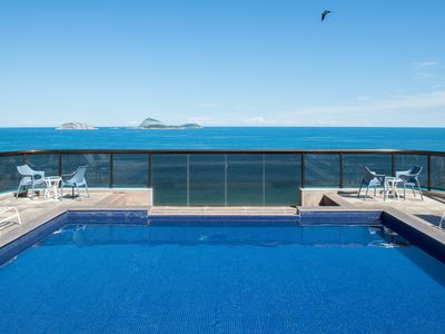 Photo for Spectacular view from the rooftop pool