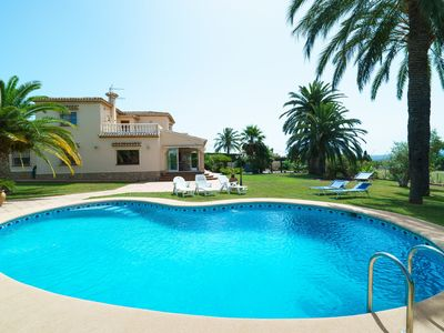 Photo for CANTALLOPS - Villa with private pool in Xábia.