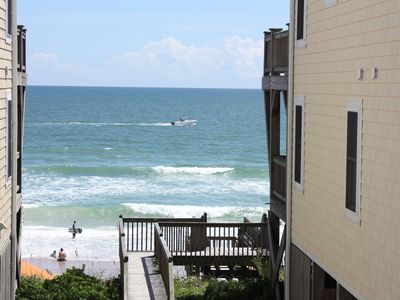 Photo for Ocean Side With Ocean Front Feel, Newly Renovated (Ocean Front B)