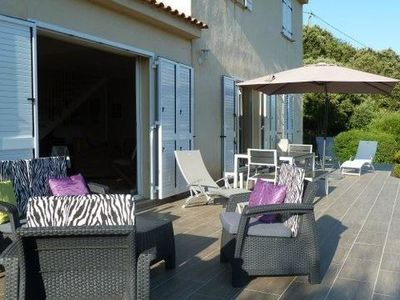Photo for Villa very quiet in southern Corsica