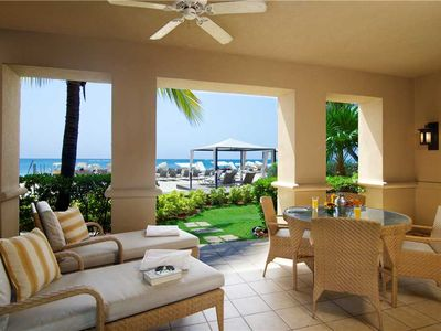 Photo for Incredible Oceanfront Apartment on 7 Mile Beach at The Ritz-Carlton