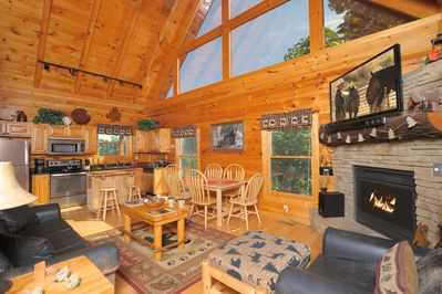 As you open the front door a relaxing Smoky Mountain vacation awaits you.