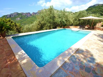 Photo for Idyllic Villa with Pool, Garden, Terraces & Wi-Fi; Parking Available