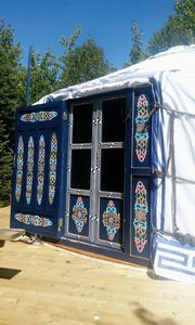 Photo for White Moon Yurt at Cabot Shores Wilderness Resort