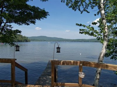 Photo for The Perfect Family Get-Away On Beautiful Webster Lake.