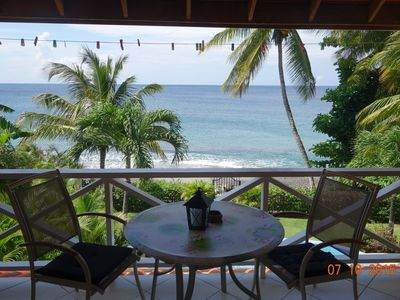 """Photo for """"Pride of Courland""""  Beachfront Apartments With Pool By The Caribbean Sea - Ap. Blue Bird"""