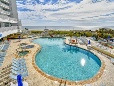 Photo for NEW LISTING! Spectacular Oceanfron~3 bedroom/3 bath Corner Unit at Seawatch