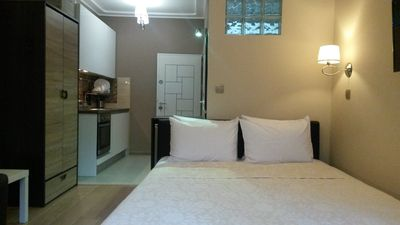 Photo for Sonata Apartment - in the Top City Center, quiet street, beautiful Park /2 ppl