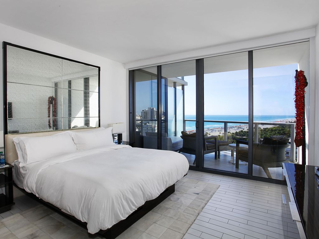 Enjoyable Direct Ocean Views W Hotel South Beach 3 Bedroom Apartment South Beach Download Free Architecture Designs Grimeyleaguecom