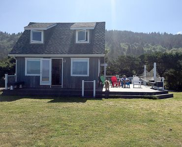 Photo for Oceanfront Bungalow With Beach Access On The Oregon Coast