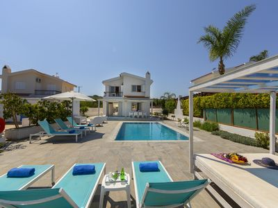 Photo for Villa in the Heart of of Protaras Near Fig Tree Bay and the Main Strip