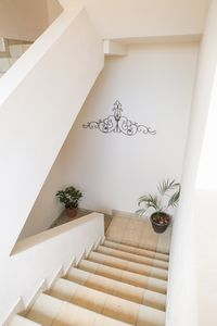 Stairs to the apartment
