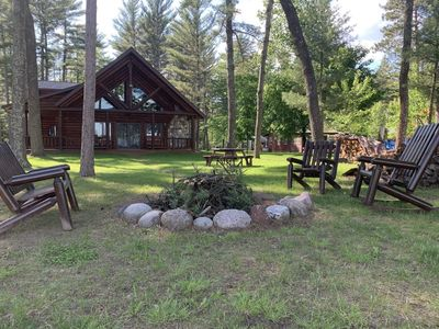 Photo for Tall Timbers Lodge - Outdoor Enthusiast Lakefront Lodge Sleeps 16