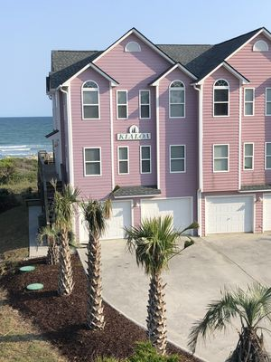 Photo for Oceanfront 6 Br, 4 Bath Townhome With Community Pool At End Of B Driveway