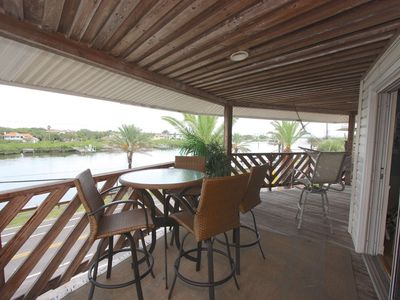 Photo for Beachside condo steps from the sand! Huge balcony with hammock! Wi-Fi, Cable, W/D-Cypress-n-Sun B-3