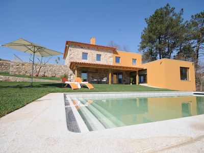 Photo for 5 bedroom Villa, sleeps 10 in Volência with Pool, Air Con and WiFi