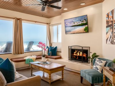 Photo for Gorgeous Single Family Beachfront Home on the Sand, Equipped with Central AC