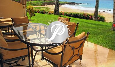 Photo for Upscale home mere steps from the golden sand of Po'olenalena Beach