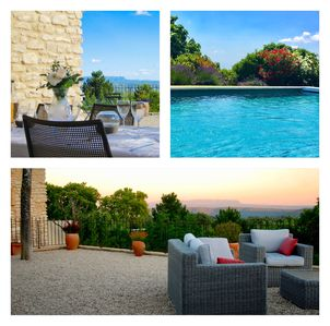 Photo for Beautiful Provencal House With Pool, Views and Air Conditioning