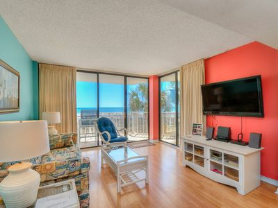 Photo for Awesome 2 bedroom 2 bath Ocean Front Condo - Booking 2019!