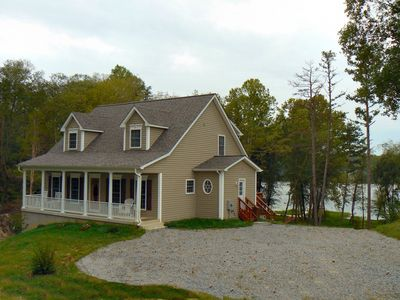 Photo for DuransDream Spectacular Lake Front Home - Water Front with Boat Dock
