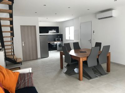 Photo for House Prunete 6/8 people 150 m from the sea PRM accessibility