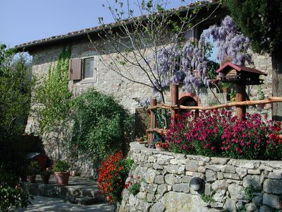 Photo for Incisa In Val D Arno: Country Farm Holidays in Tuscany - Apartment for rent in the tuscan countryside